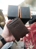 Used Men zipper Wallet Double ♥️ HIGH QUALITY in Dubai, UAE