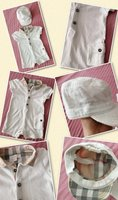 Used Authentic burberry set for baby in Dubai, UAE