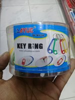 Key ring mix colour 50 pcs