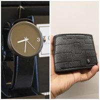 Used Bundle Offer□ TOMI Original Watch+Wallet in Dubai, UAE