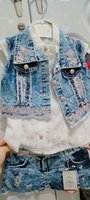 Used Brand New Jeans set made in Turkey in Dubai, UAE