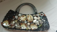 Used Native seashells made handbag in Dubai, UAE