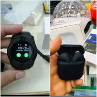 Used Iq11 watch + Black AIRPODS in Dubai, UAE