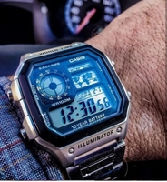 CASIO Steel illuminator ¤ Original Watch