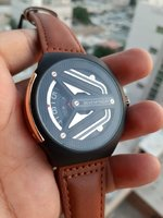 Used Seven Friday Automatic Leather Watch_️ in Dubai, UAE