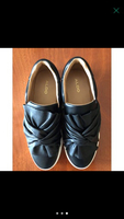 Used Brand new black slip ons  in Dubai, UAE