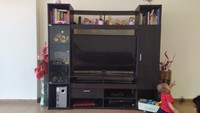Used TV wall unit from homecenter in Dubai, UAE