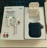 Used Modio BRAND AIRPODS free pouch in Dubai, UAE
