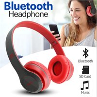 Used New red p47 foldable bluetooth headphone in Dubai, UAE