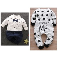 Used 2 pcs baby jumpsuit from PatPat 3 month in Dubai, UAE
