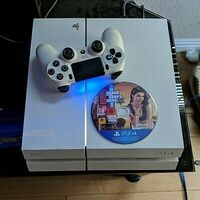 Used PS4 white glacier 500gb in Dubai, UAE