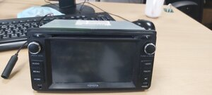 Used Toyota MP5 player with touch screen in Dubai, UAE
