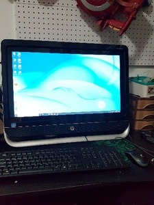 "Used HP 23"" Touch All in One 4GB 500GB 3GB GC in Dubai, UAE"