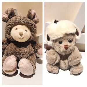 Used 2 plush teddy bears soft animal  in Dubai, UAE