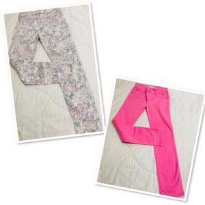 Used 2 Pants For Her size 8 (26/27) +1 FREE♥️ in Dubai, UAE