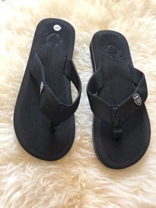 Used Black flip flop size 42  in Dubai, UAE