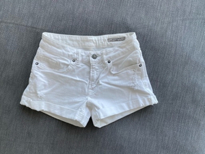 Used All Saints white denim shorts🤍 in Dubai, UAE