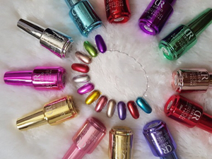 Used 2 pcs mirror nail polish  in Dubai, UAE