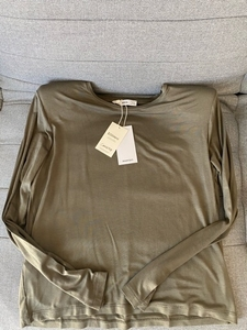 Used Mango Top with Padded Shoulders in Dubai, UAE