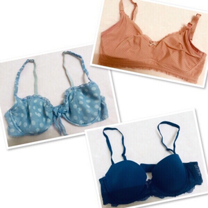 Used 3 bra mixed brand size 34B in Dubai, UAE