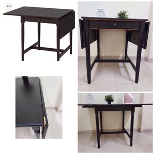 Used IKEA(Drop leaf table)طاوله مع جناح ينطوي in Dubai, UAE
