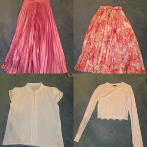 Used Bundle 2 skirts and 2 tops in Dubai, UAE