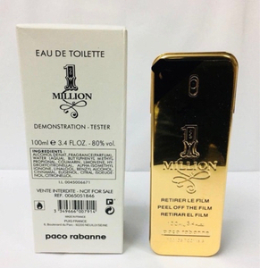 Used Paco Rabanne 1 Million EDP 100 ml tester in Dubai, UAE