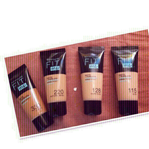 Used 4 PCs Maybelline Fit me Foundation ♥️ in Dubai, UAE
