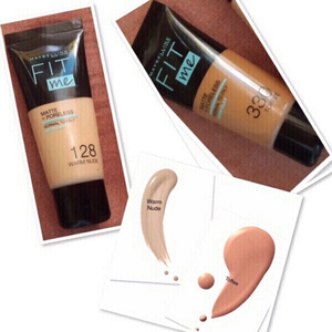 Used 2 PCs Maybelline Fit me Foundation ♥️ in Dubai, UAE