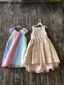 Used 2 H&M dresses new size 9/10 years old  in Dubai, UAE
