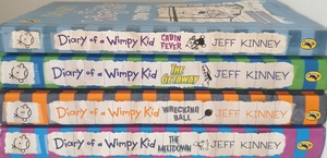 Used Wimpy Kid Book in Dubai, UAE
