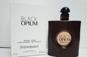 Used YSL Black Opium EDT 90 ml tester  in Dubai, UAE