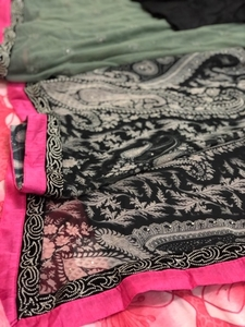 Used New ready printed saree wt blouse &skirt in Dubai, UAE