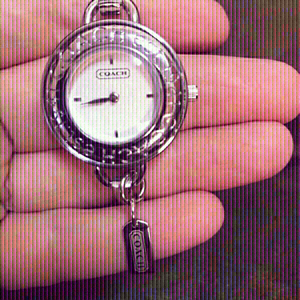 Used Coach bangles and wristwatch for women  in Dubai, UAE