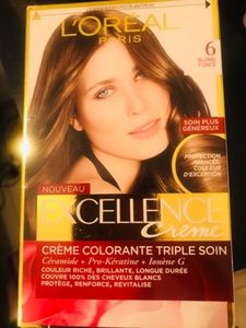 Used L'Oréal hair color, blonde fonce  in Dubai, UAE