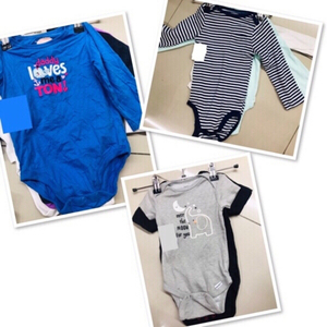 Used 9 pcs Baby clothes 0-3 months ♥️ in Dubai, UAE