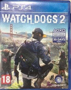 Used Watch Dogs 2 PS4 game in Dubai, UAE