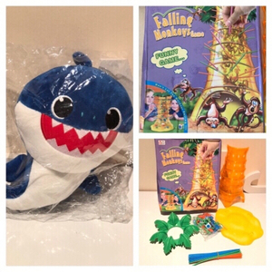 Used Falling Monkey game & singing shark in Dubai, UAE