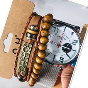 Used Men's Watch & Bracelet set ♥️ in Dubai, UAE