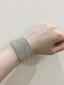 Used Cubic zirconia accessory bracelet  in Dubai, UAE