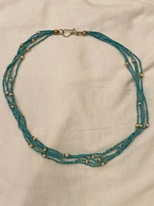 Used Turquoise Necklace popular in Turkey in Dubai, UAE