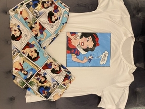 Used Disney's Snow White pajamas NEW  in Dubai, UAE
