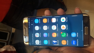 Used Samsung Galaxy S7 Edge Gold in Dubai, UAE