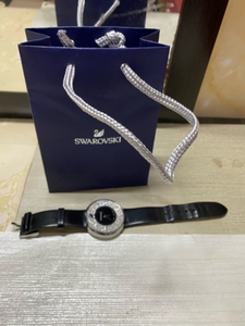 Used Swarovski Watch Leather new Battery in Dubai, UAE