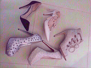 Used authentic heels, 40 (orig price 3000+) in Dubai, UAE