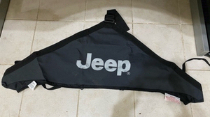 Used Jeep Wrangler Mopar Black Hood Cover in Dubai, UAE