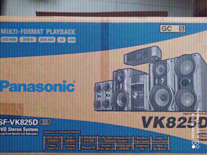 Used panasonic dvd stereo system, VK825D in Dubai, UAE