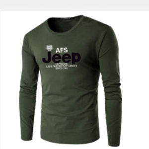 "Used T-Shirt print ""AFS Jeep"" size XXL olive  in Dubai, UAE"