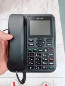 Used  2SIM card GSM phone HOME &OFFICE in Dubai, UAE