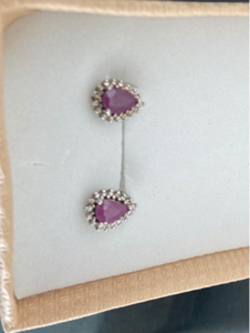 Used Real Natural rubies with 925 silver in Dubai, UAE